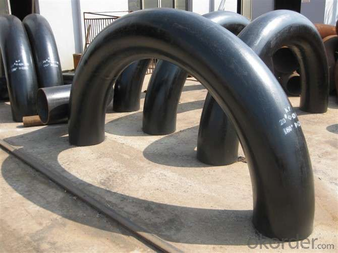 180 Degree Carbon Steel Pipe Fittings Elbow For Natural Gas
