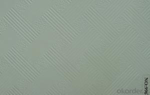 PVC  Gypsum  Ceiling  Tiles High Quality Paper-Faced