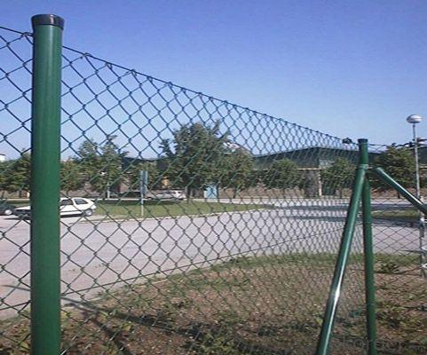 Buy Galvanized Chain Link Fence Diamond Wire Mesh Pvc