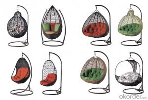 All kinds of out door garden hanging rattan chair