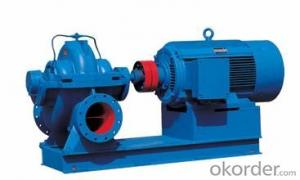 Serial centrifugal horizontal split case electric water pumps CNBM From China