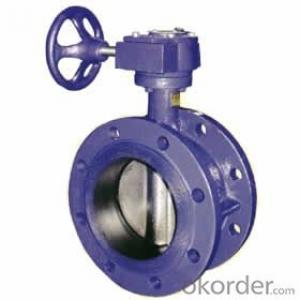 Ductile Iron wafer butterfly valves DN330