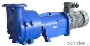 Professional stainless steel water ring penis vacuum pump