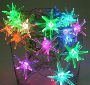 220V/110v 50M 400LED Holiday Lights Colorful Christmas Lights Waterproof Snowflake Led String