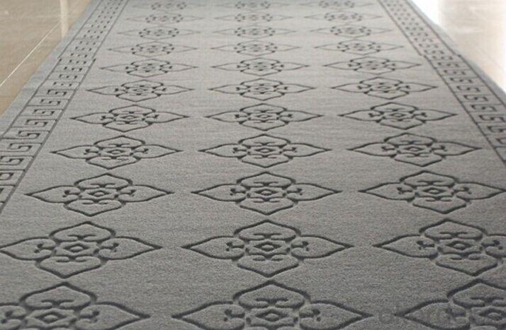 100% Polyester non woven broadloom Jacquard carpet