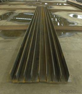 Hot Rolled Steel Welded T Form Bar GB Standard for Constructin