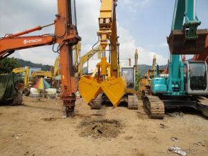 Excavator Clamshell Bucket excavator parts Komatsu 120/200-6