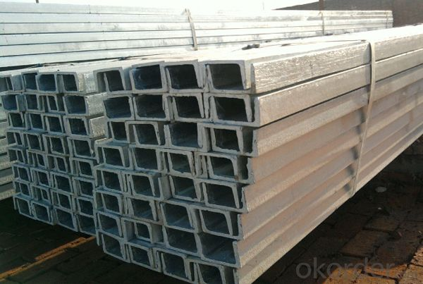 Hot rolled high quality JIS U CHANNEL SS400