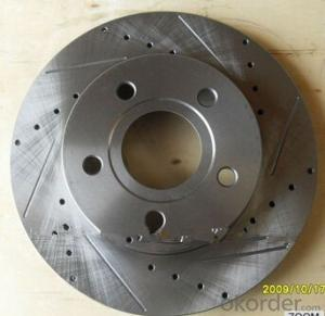 Customized auto spare parts,brake disc rotor for TOYOTA 4351235190,brake disc machinery factory