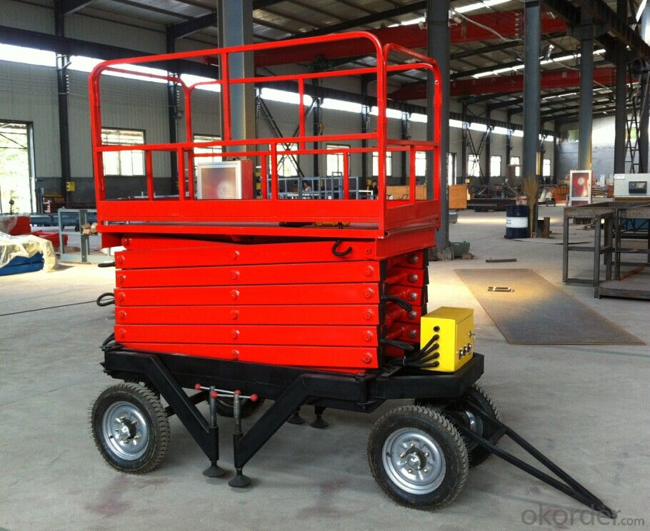 Mobile Scissor Lift Platform Lift Table Hydraulic Scissor Lift
