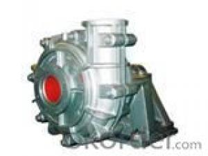 Rubber liner horizontal centrifugal mud rubber pump