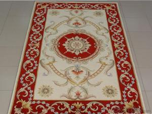 Hand Knotted Wool Carpet hand made aubusson wool rugs