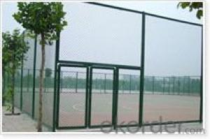 Chainlink Wire Mesh Wire Fencing with Low Price from Factory Directly