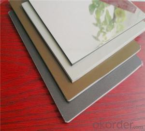 TOBOND alucobond mirror aluminium composite panel
