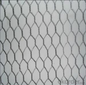 Hexagonal Wire Mesh Gabions Mesh PVC coated