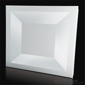 Aluminium Ceiling Lay in Type Plain Standard White
