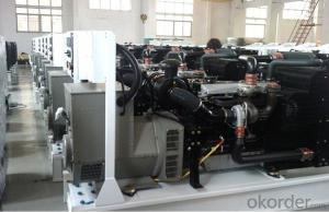 3 Phase Perkins Genset Diesel Generator With 1606A-E93TAG5