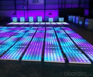 LED Stage Light  Dancing LED Floor 1m x1m Size