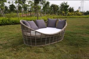 Outdoor Sofa Bed with Wicker Furniture 2015