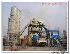 HZS60 Concrete Batching Plant / ISO & CE