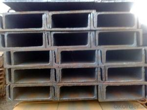 channel steel Surface and Length: According to the Requirements