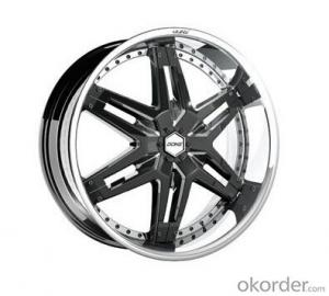 Excellent quality auto rims with double beadlock
