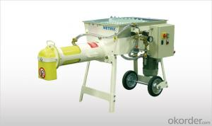 WAM WETMIX BAGS Mortar Mixers with Bag Feeding Hopper