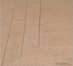 Thin Plain MDF Board  2.7x1830x2440mm Light Color