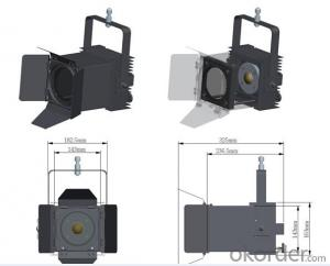 Aluminium Led Stage Light CNBM Hot Sale 54pc*3w
