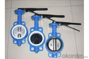 Ductile Iron wafer butterfly valves DN480