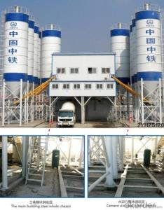 Practical HZS90 low cost concrete batching plant small concrete batching plant