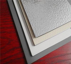 TOBOND pvdf sheet/ pvdf aluminum panel/ aluminium sheet price/alumninium composite panel