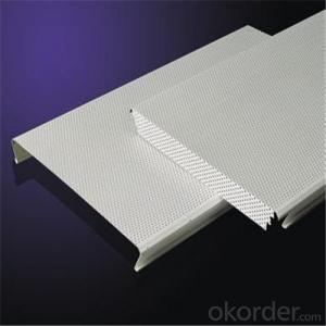 Aluminium Metal Ceiling Panels,C-Strip Type