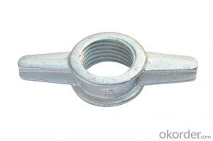 Prop threaded tube,prop accessories,prop sleeve /shoring prop nut