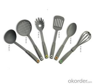 Nylon Kitchenware set for cooking,your best choice