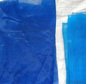 Black PE Tarpaulin Mesh For Waterproofing Usage