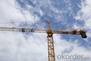 QTZ63(5013) self raising CMAX  tower cranes