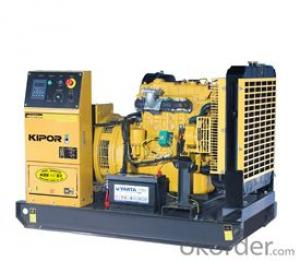 DIESEL GENERATOR, Diesel Engine Open-shelf Generator, LCD Data Displays