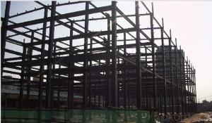 HEAVY STEEL STRUCTURE BUILDING AND PROJECT --BT- 015