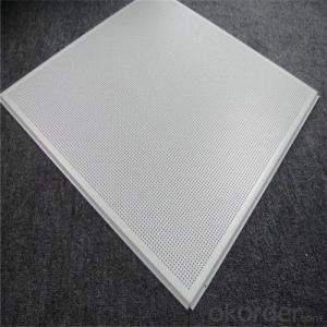 Aluminium Ceiling Lay In Type Plain System