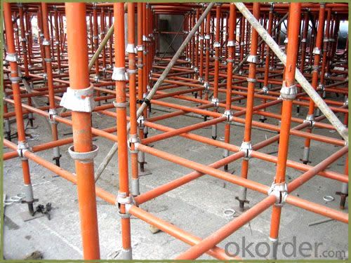 Cuplock Scaffolding with Construction Electric Galvanized or Paint