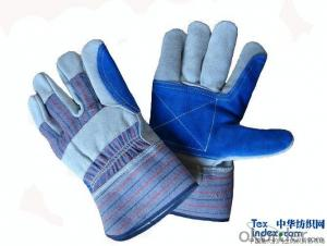 Work Gloves PU518 2015 new design Cheap Price 13G black PU