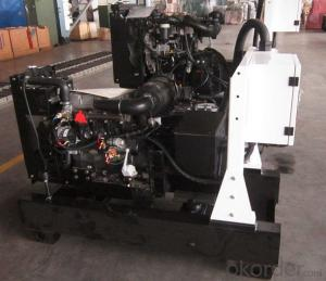 Perkins Engine Genset Diesel Generator , 7kw To 125kw House Generator