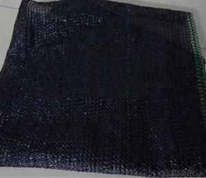 Black PP Tarpaulin Mesh For Waterproofing Usage
