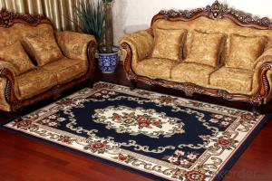 Polypropylene Area Latex Back European Style Rugs