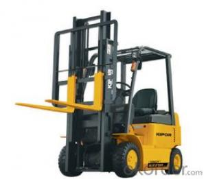 FOUR-WHEEL FORKLIFT load weight 1000kg, Max. fork height 3m