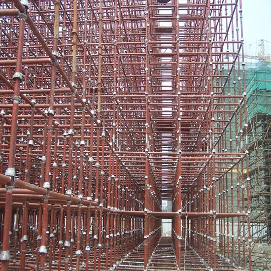 Cup-lock Scaffolding with High Performance, Held Great Reputation form Customers