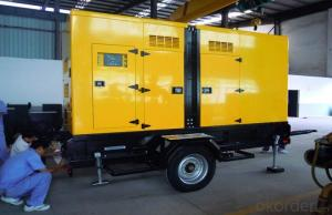 Truck / Trailer Genset Diesel Generator500kva  Perkins With AMF