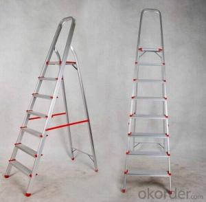 CE/ En 131 Approved Household Aluminum Ladder (XP-HLA006)