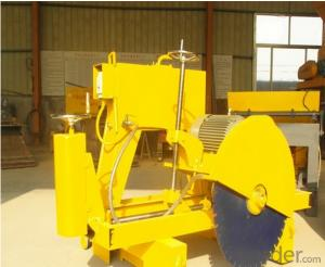 Small manual machines for cutting concrete